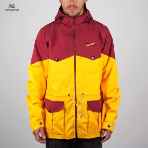 цена на Куртка TURBOKOLOR Ewald Plus Jacket SS13 (Yellow-Red, L)