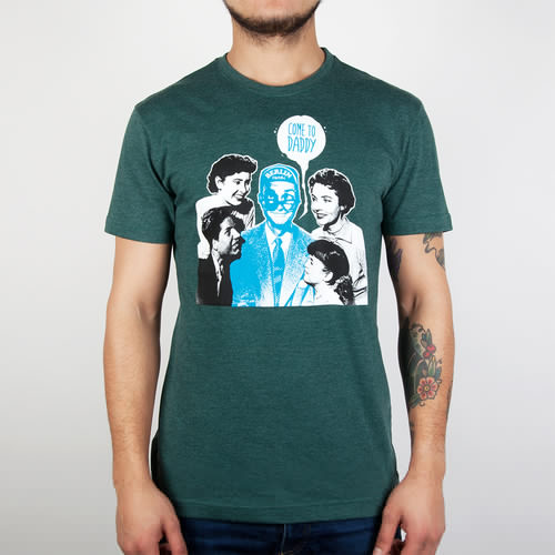 Футболка IRIEDAILY Come To Daddy Tee (Forest Melange-441, L)