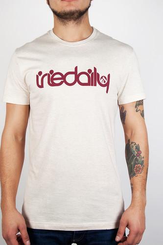 Футболка IRIEDAILY No Matter 4 Tee (Ecru Melange-510, M) футболка iriedaily come to daddy tee forest melange 441 l