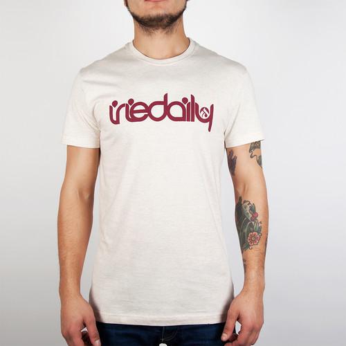 Футболка IRIEDAILY No Matter 4 Tee (Ecru Melange-510, M) футболка iriedaily flag x allover tee grey melange 709 l