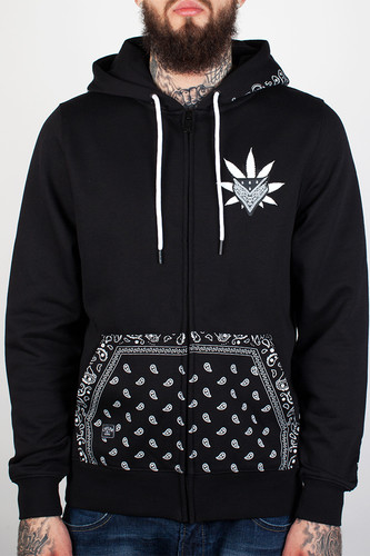 Толстовка CAYLER & SONS Never Polite Zipper-hoody (Black/White, L)