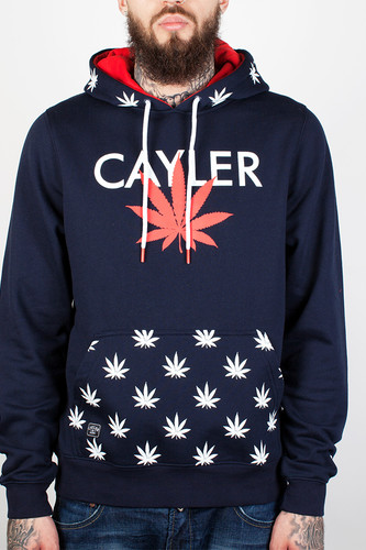 Толстовка CAYLER & SONS V$A Hoody (Deep Navy/Red/White, L)