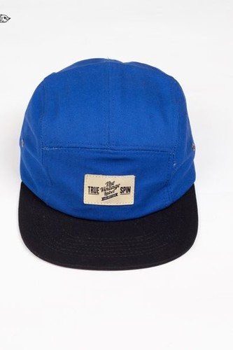 Бейсболка TRUESPIN 5 Pannel Cap (River-Royal-Black, O/S)