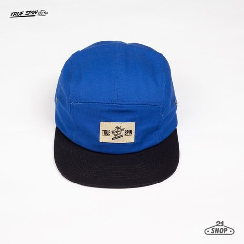 Бейсболка TRUESPIN 5 Pannel Cap (River-Royal-Black, O/S)