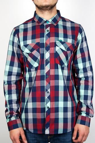 Рубашка IRIEDAILY Valle Bamboo LS Shirt (Mintgrey-462, XL) a badi o quam suavis est domine spiritus tuus