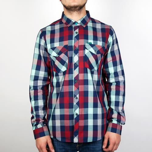 Рубашка IRIEDAILY Valle Bamboo LS Shirt (Mintgrey-462, XL) недорго, оригинальная цена