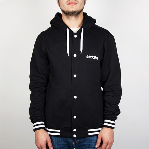 Толстовка IRIEDAILY Irie2 College Hooded (Black-700, L) цены онлайн