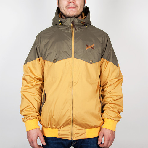 Куртка TURBOKOLOR Ewald Jacket FW14 (Mustard/Green, XL) цена