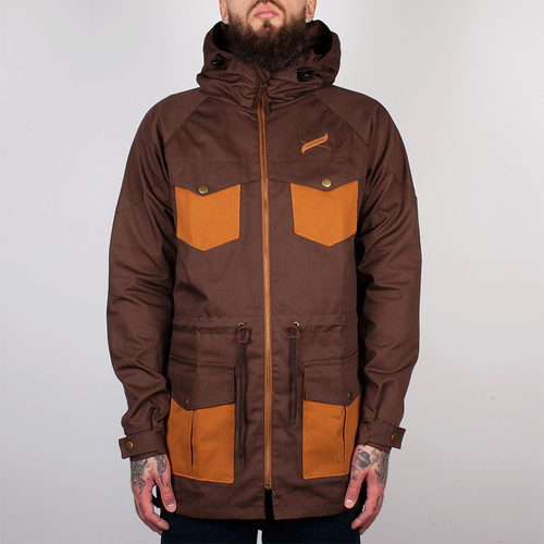 Куртка TURBOKOLOR Ewald Plus Jacket FW14 (Brown/Brown, L) brown l