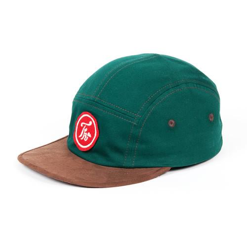 лучшая цена Бейсболка TURBOKOLOR Five Panel Caps FW14 (Green/Brown, O/S)