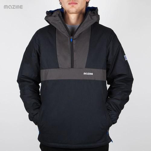 Куртка MAZINE Pavement Windbreaker (Black-Light-Black, 2XL) ветровка mazine glacier light windbreaker rainy day baltic xs