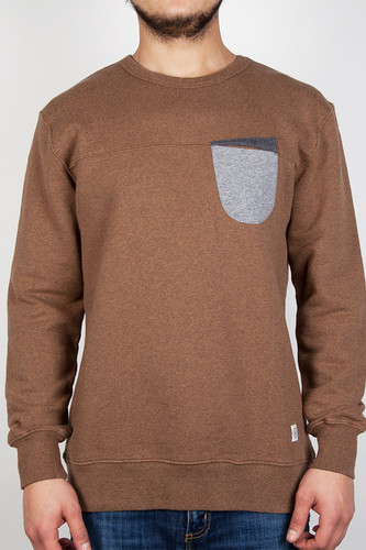 Толстовка UCON Aden Sweater (Dark Sand/Melange, M)