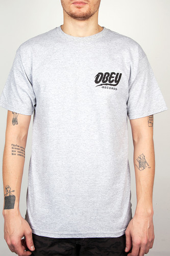Футболка OBEY The Shocker (Heather Grey, L)