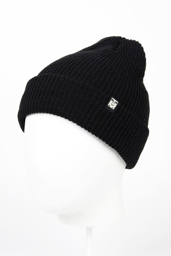 Шапка OBEY Ruger Beanie FW14 (Black) шапка obey circle patch beanie black
