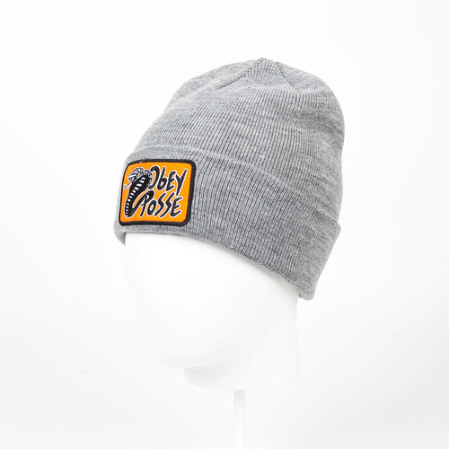 Шапка OBEY Viper Beanie (Heather Grey)