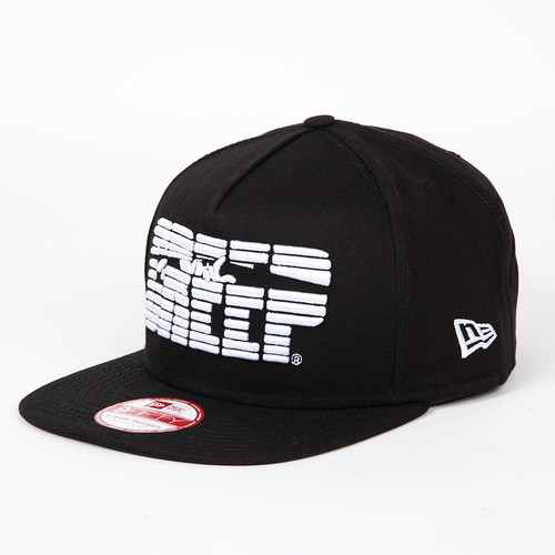 Бейсболка TRAINERSPOTTER X Street Creep Snap Back (Black, O/S) цена