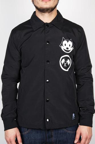 Куртка TRAINERSPOTTER Felix Fsu Coach Jacket (Black, L) куртка меч ss17 pr coach dark темный хаки l