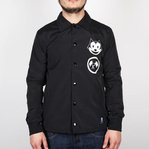 Куртка TRAINERSPOTTER Felix Fsu Coach Jacket (Black, L) цена 2017