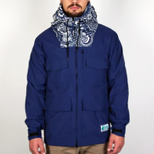 купить Куртка TRAINERSPOTTER Paisley Salinas Parka (Navy, L) по цене 2127 рублей