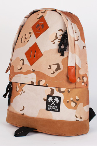 Рюкзак TRAINERSPOTTER Camouflage Daypack (Brown Desert-A)