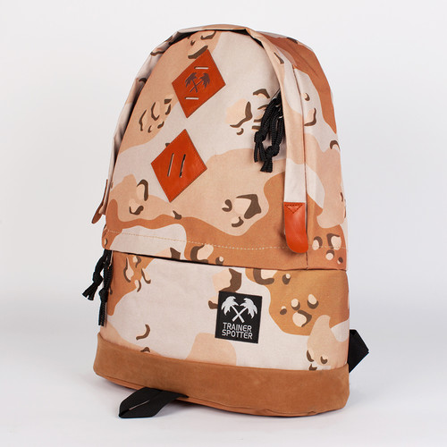 Рюкзак TRAINERSPOTTER Camouflage Daypack (Brown Desert-A) худи print bar brown camouflage