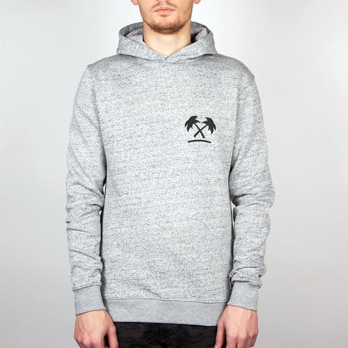 Толстовка TRAINERSPOTTER 80's Hood (Grey Marl, L) футболка trainerspotter felix and the pigs ass t shirt grey marl a 2xl
