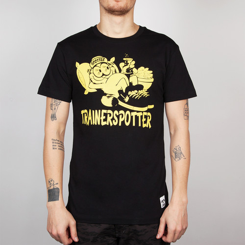 Футболка TRAINERSPOTTER Chilax T-shirt (Black-A, XL) футболка trainerspotter felix and the pigs ass t shirt grey marl a 2xl