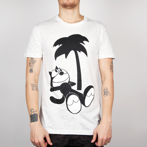 Футболка TRAINERSPOTTER Felix Chilled T-shirt (White-A, L) футболка trainerspotter felix and the pigs ass t shirt grey marl a 2xl