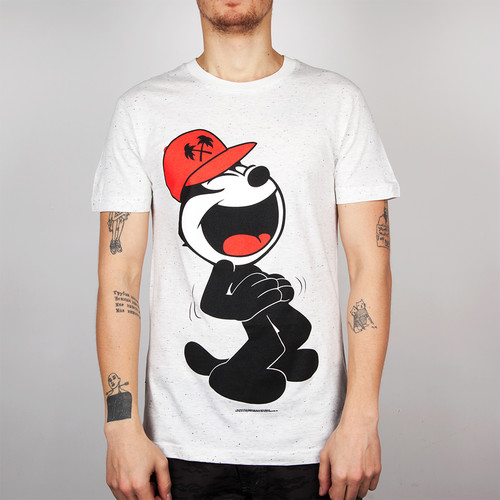Футболка TRAINERSPOTTER Felix Fsu T-shirt (White-A, 2XL) майка backyard cartel purple white 2xl