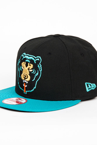 Бейсболка MISHKA Death Adder New Era Snapback (Black, O/S)