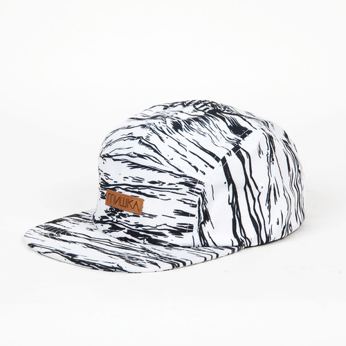 Бейсболка MISHKA Entombed 5-panel (White, O/S) бейсболка mishka chaifned 5 panel black o s