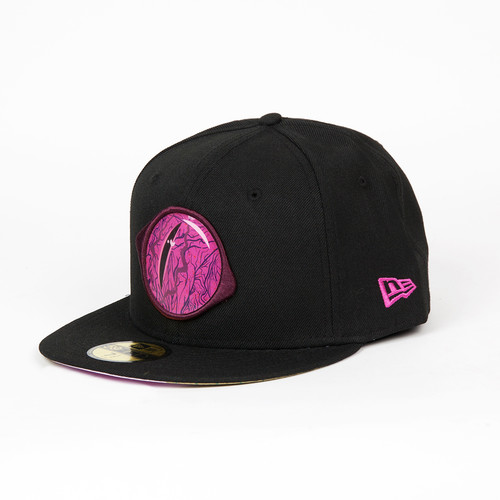 Бейсболка MISHKA Reptilian Keep Watch New Era 5950 (Black, 7 5/8) бейсболка mishka reptilian keep watch new era 5950 black 7 5 8