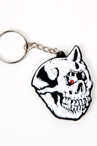 Брелок MISHKA Cyco Bootle Rubber Keychain (White)