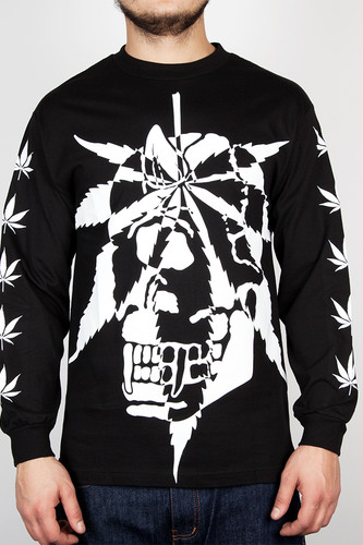 Лонгслив MISHKA Cyco Sativa Long Sleeve (Black, L)