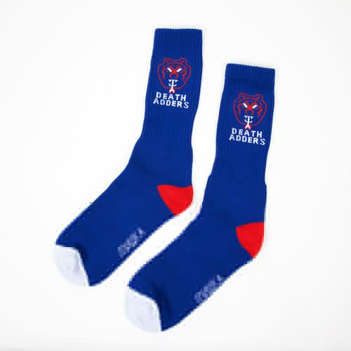 лучшая цена Носки MISHKA Death Adder Socks (Royal, O/S)