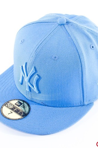 Бейсболка NEW ERA Leag Ton Mlb N.y. (Airforce-Blue, 7 1/8)