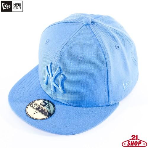 Бейсболка NEW ERA Leag Ton Mlb N.y. (Airforce-Blue, 7 1/8) бейсболка new era classic grey purple 7 1 4
