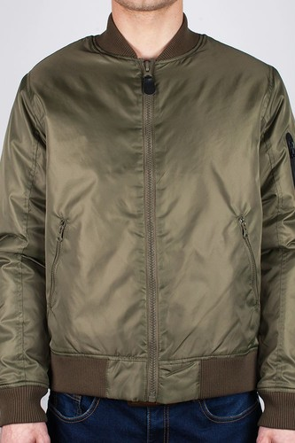 Куртка BEASTIN Flight Jacket (Military-Green-Combat-Orange, M)