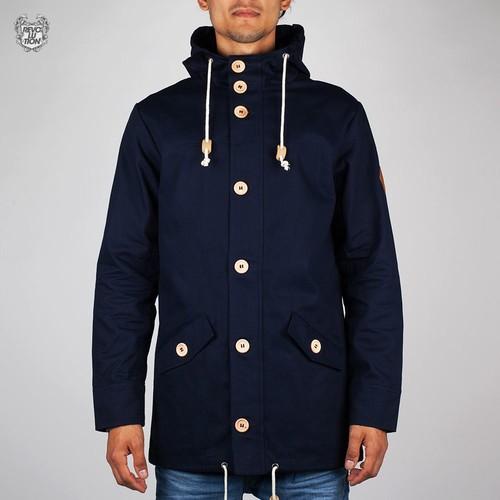 купить Ветровка REVOLUTION Garth Jacket (Navy, L) по цене 1350 рублей