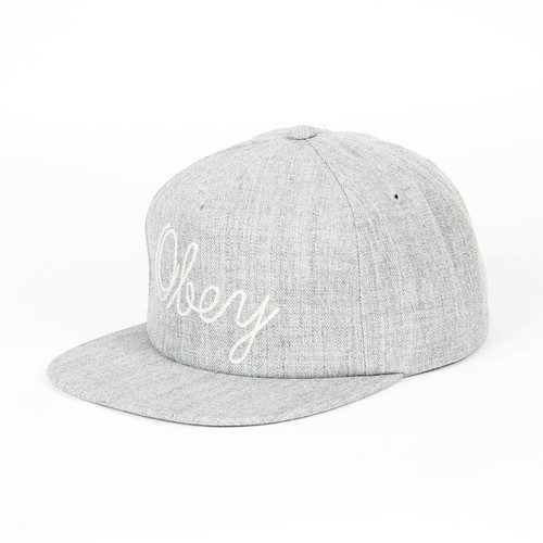 Бейсболка OBEY Needle Hat (Heather Grey, O/S) бейсболка obey needle hat heather grey o s