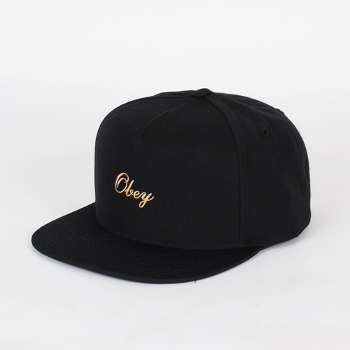 Бейсболка OBEY Reptilia Hat (Jet Black, O/S) бейсболка obey washington 5 panel olive o s