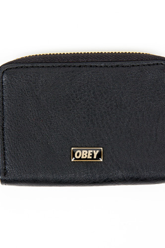 Кошелек OBEY Drexel Coin Wallet (Black)