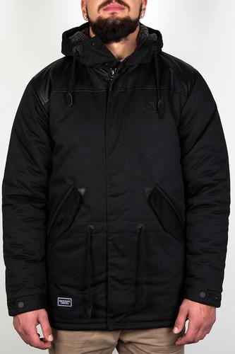 Куртка BACKYARD CARTEL Parka FW14 (Black, L) бейсболка backyard cartel splash black o s