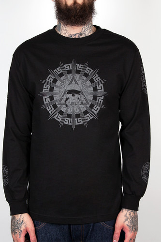 Лонгслив CROOKS & CASTLES Killuminati (Black, L) лонгслив crooks
