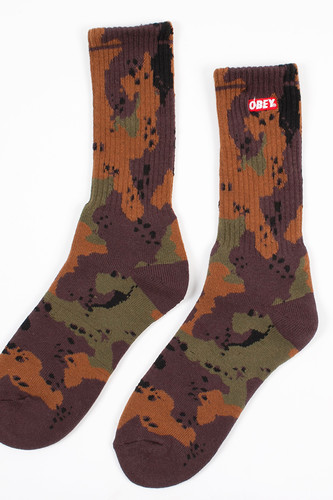 Носки OBEY Quality Dissent Socks (Desert-Blotch-Camo, O/S) merrto 2016 quality hiking pants for
