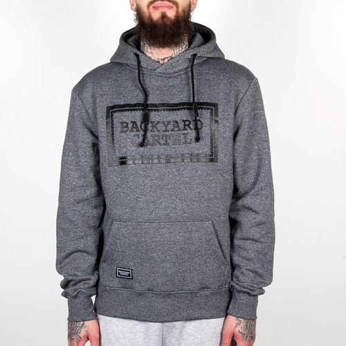 Толстовка BACKYARD CARTEL Label (Dark Grey Heather, XL) толстовка backyard cartel neat dark grey heather s