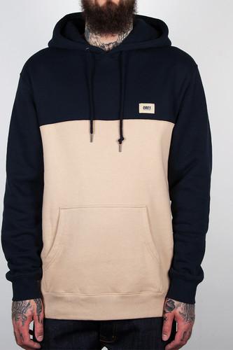 Толстовка OBEY West Pullover Hood (Navy, L) цена