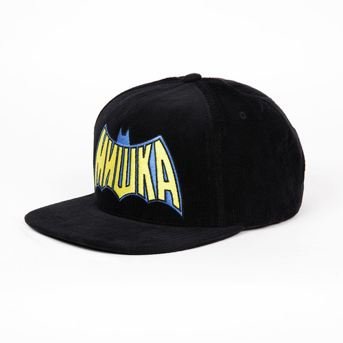 Бейсболка MISHKA Cyrillic Terror Corduroy Snapback (Black, O/S) terror female ghost gloves black white pair