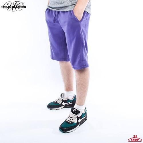 Шорты URBAN CLASSICS Light Fleece Sweatshorts (Purple, 2XL) шорты urban classics bball mesh shorts turquoise s