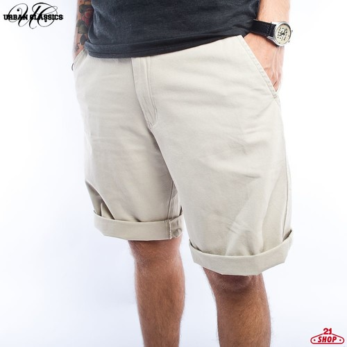 Шорты URBAN CLASSICS Chino Shorts (Beige, 34) джинсы муж new albert chino gas